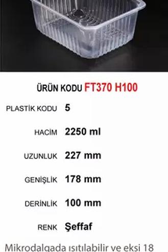 227X178 SERİSİ yemek kapları plastik