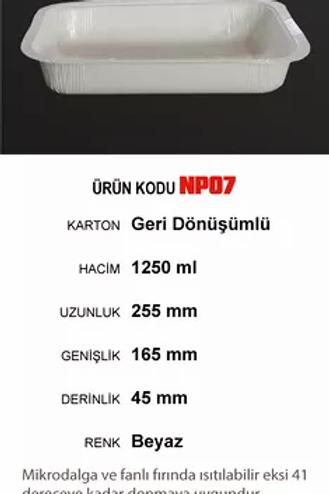 NP SERİSİ KARTON GIDA KAPLARI