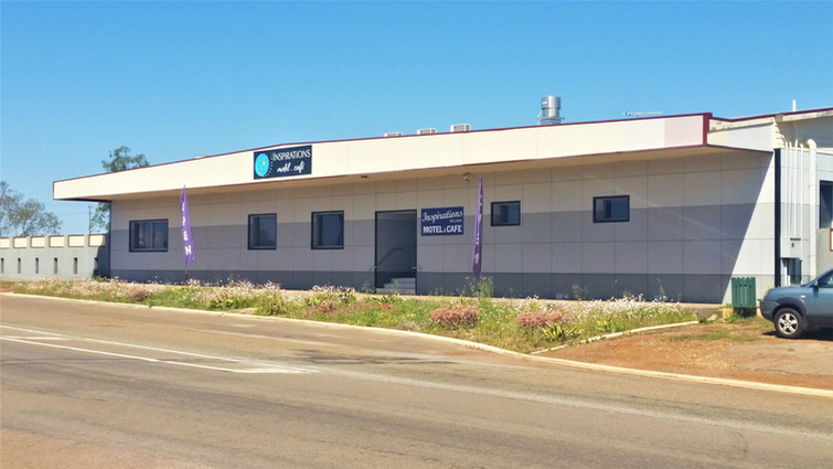 Front of Inspirations Mullewa