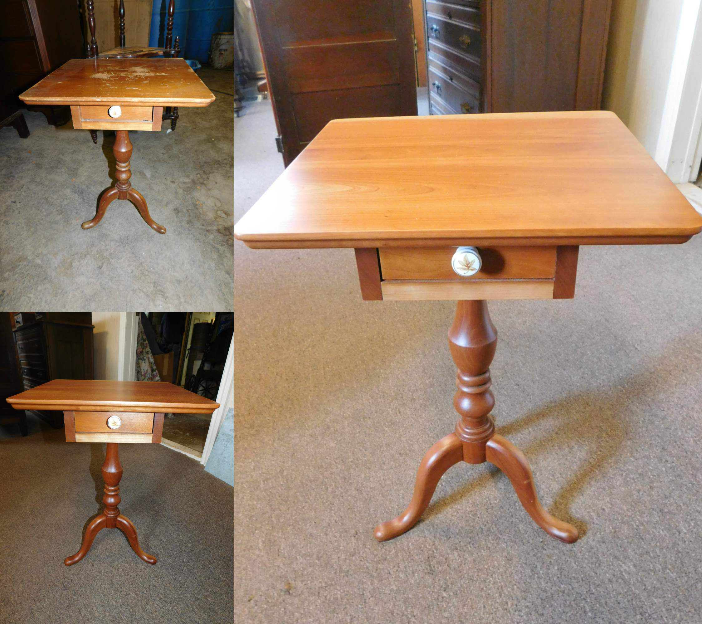 Tiny Cherry Table
