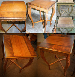 Beautiful End Table Restoration
