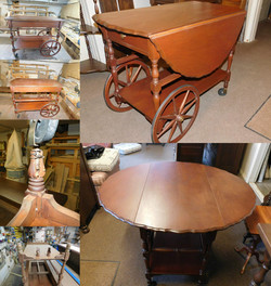 Tea Cart Restoration