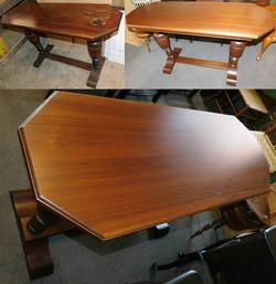 Walnut Sofa Table