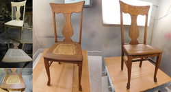 Oak Caned Chairs