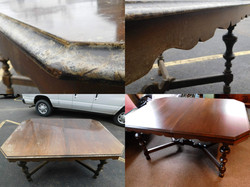Severe Water Damage Table