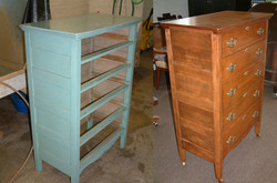 Painted Maple Dresser