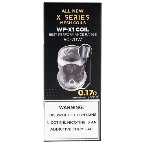 SnowWolf WF-X1 Coils 5pk