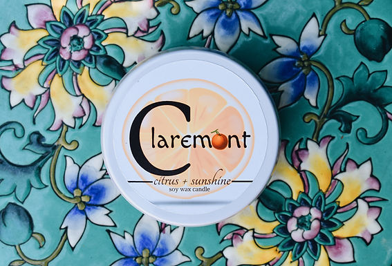 Claremont Soy Candle