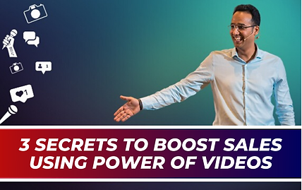 3 secrets to boost sales using power of
