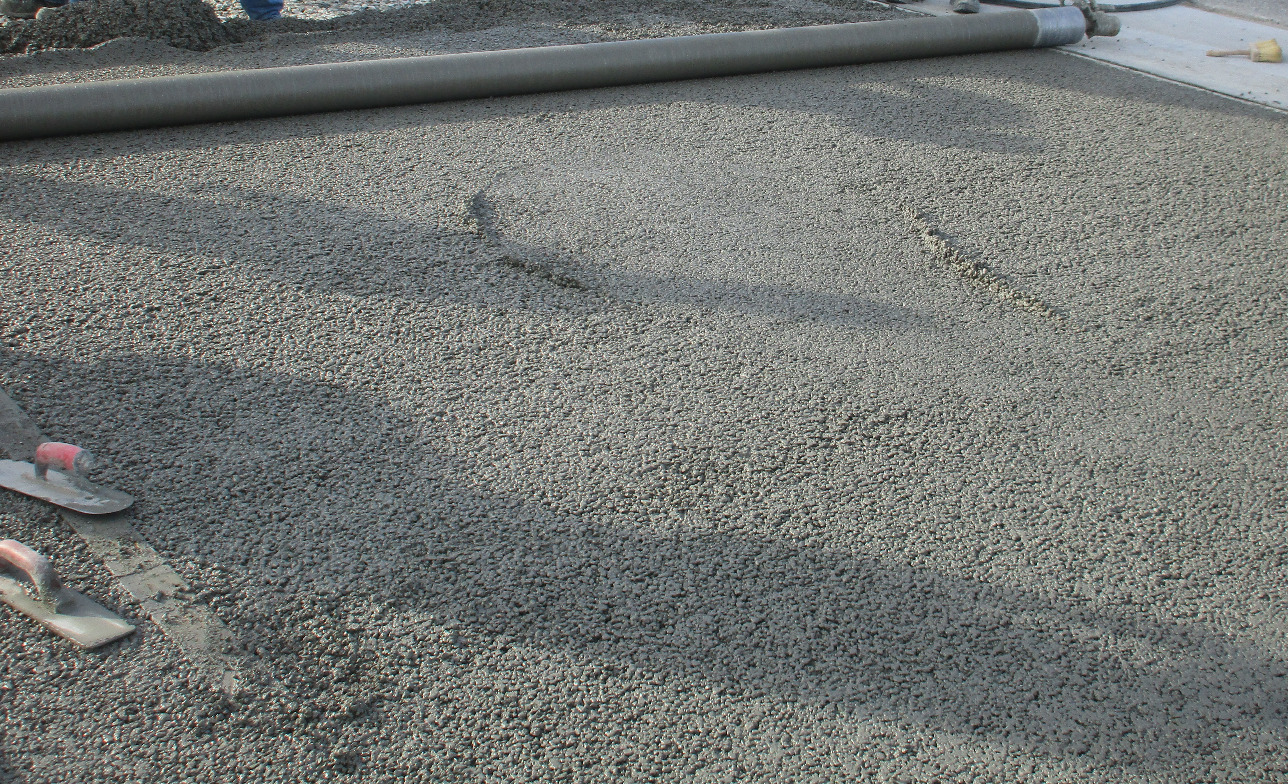 Pervious Pavement Installation