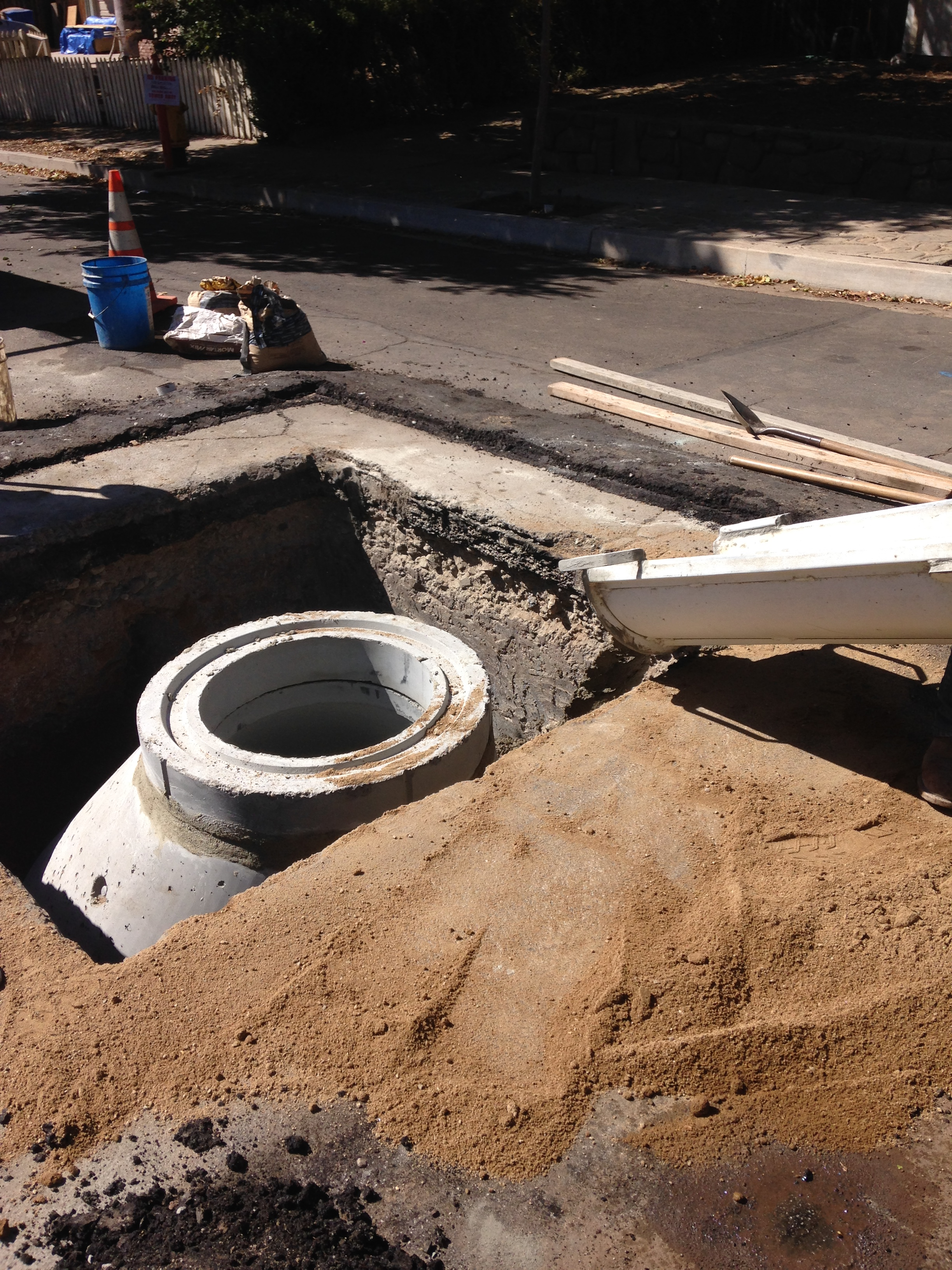 Rice Rd Manhole Replacement
