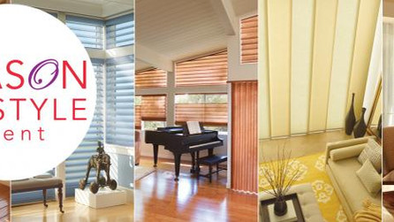 SEASON OF STYLE by Hunter Douglas (you will want to see these....)