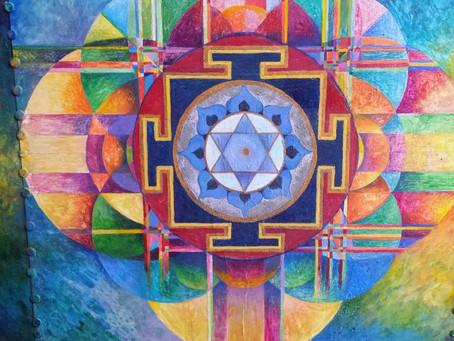 Meditative Art Workshops: Mandala Painting  v  1