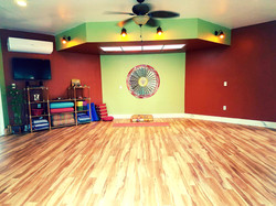 Inside our Zen Yoga Space