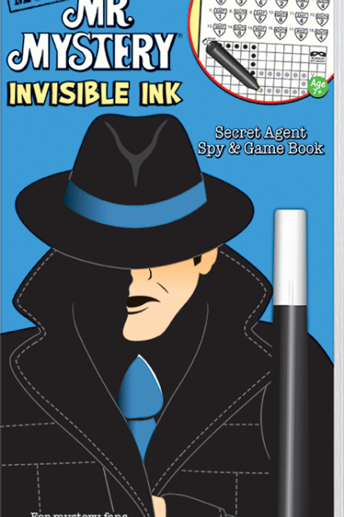 Invisible Ink: Mr. Mystery