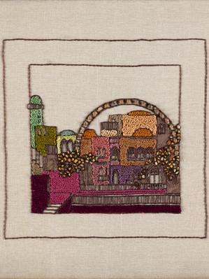 JERUSALEM PANORAMA-CHURVA
