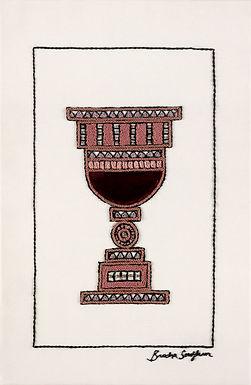 VELVET KOSS-Original Hand Embroidered Artwork-45x69cm