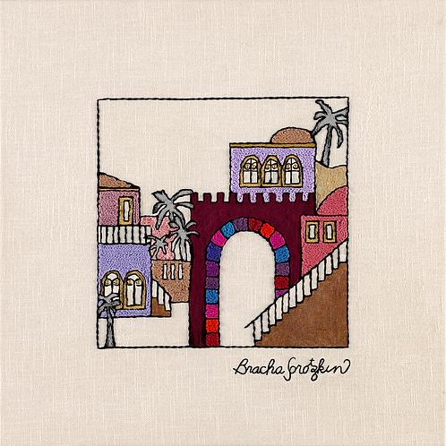 Jerusalem Steps -3-Archival Print