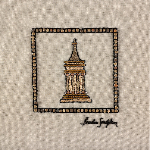 THE ORIGINAL HAND EMBROIDERED-MINI JERUSALEM - AVSHALOM