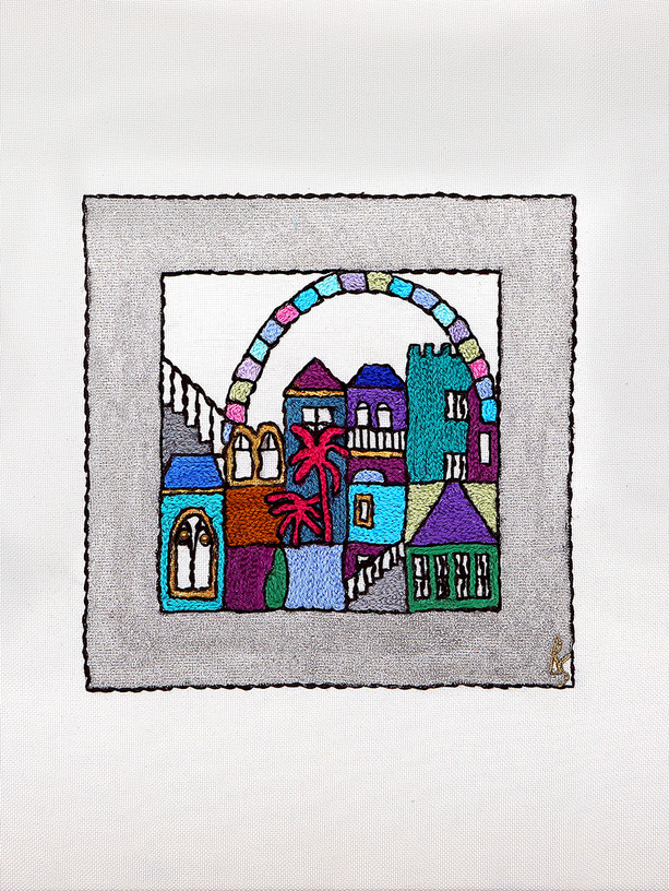 SILVER SQUARES-WINDOW