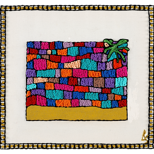 THE NEW KOTEL SYMBOL-Mounted Stretched Canvas Archival Print