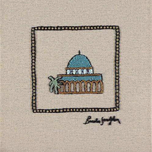 THE ORIGINAL HAND EMBROIDERED-MINI JERUSALEM - OMAR