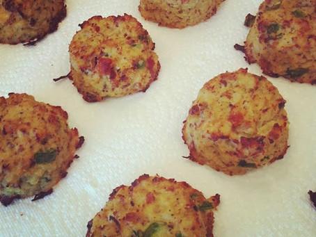 Cauliflower Bacon Biscuits