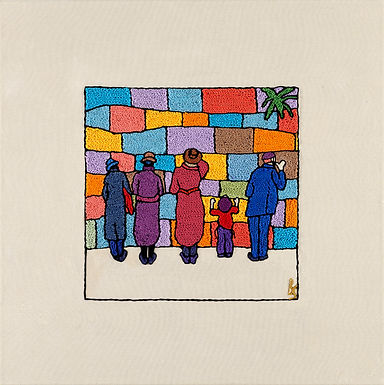 KOTEL MEN-Mounted Stretched Canvas-45x45-Archival Print