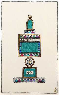 THE ORIGINAL HAND EMBROIDERED-COLORED BESAMIM