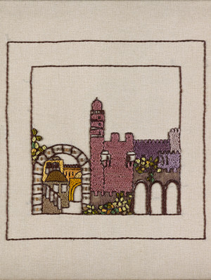JERUSALEM PANORAMA-RED MIGDAL