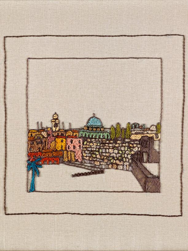 JERUSALEM PANORAMA-KOTEL