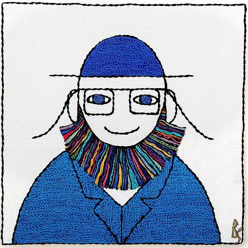CHALMER MAN-DIGITAL PRINT- UNMOUNTED ARCH