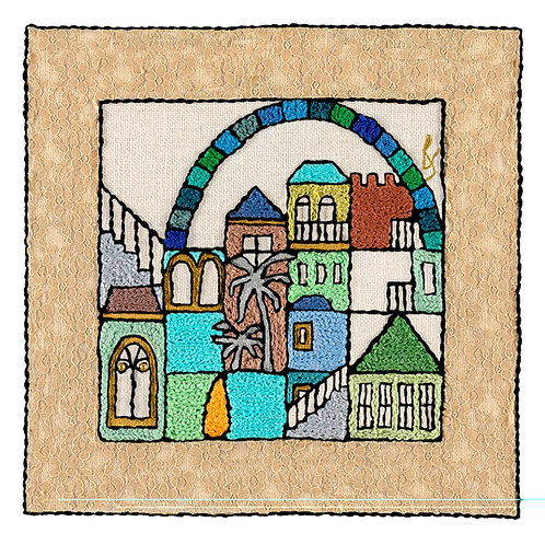 SQUARES-WINDOW-Unmounted Rolled Arch Paper-45x45-Archival Print