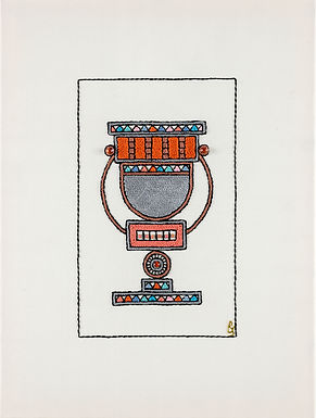 Orange-Natlan-Archival Print