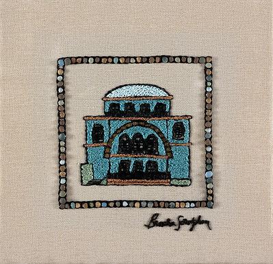 MINI JERUSALEM-CHURVA-The Original Hand Embroidered Artwork