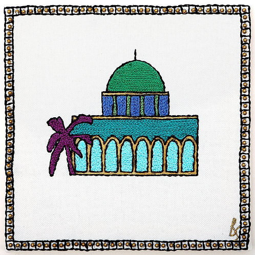 NEW OMAR SYMBOL-DIGITAL PRINT-UNMOUNTED ARCH