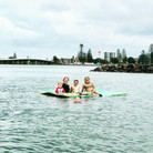 Family on Aqua Lily Pad.jpg