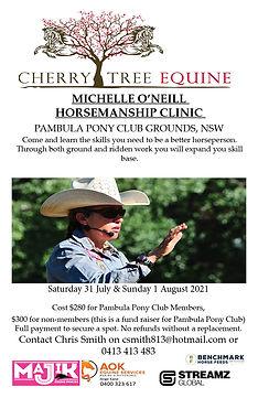 2021-07-31 Pambula Horsemanship Clinic.j