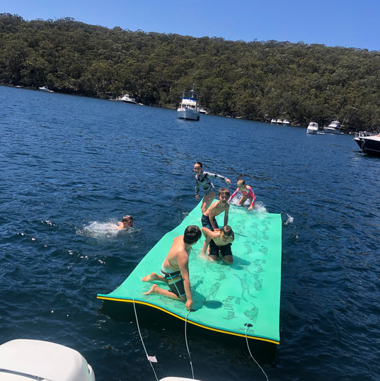Aqua Lily Pad with boat.jpg
