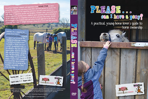"""""""Please... can I have a pony?"""" DVD"""