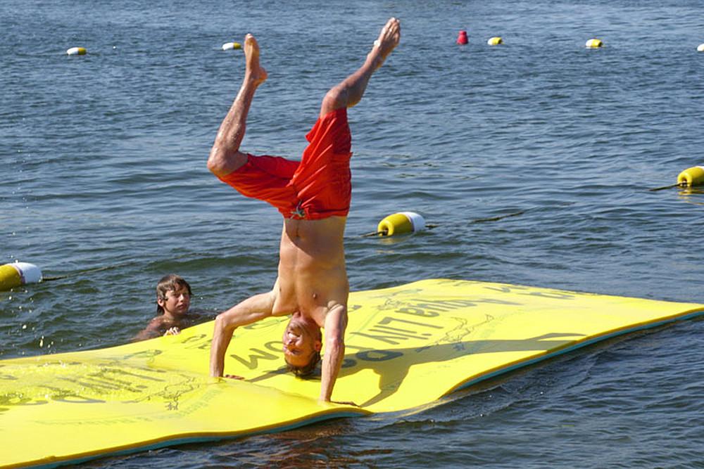 Aqua Lily Pad handstand.jpg