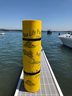 Aqua Lily Pad rolled.jpg