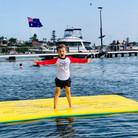 Boy on Aqua Lily Pad.jpg