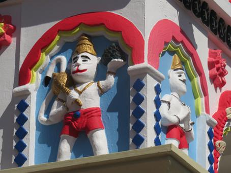 Aujourd'hui, c'est l'anniversaire d'Hanuman