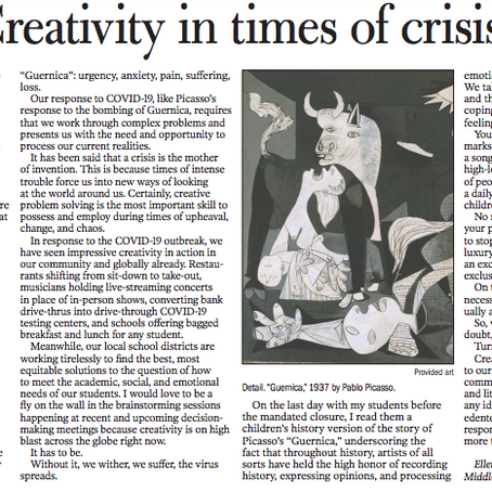 Creativity in Times of Crisis