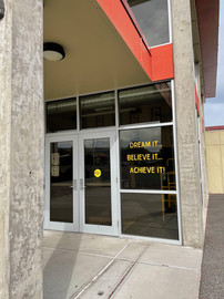 Pioneer Middle School Signage
