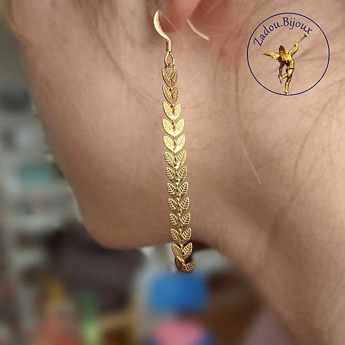 #020 Boucles d'oreilles Laura