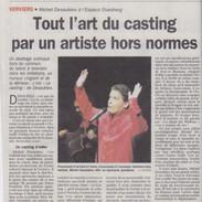 2005 02 21 Le Jour Verviers Le Casting.j