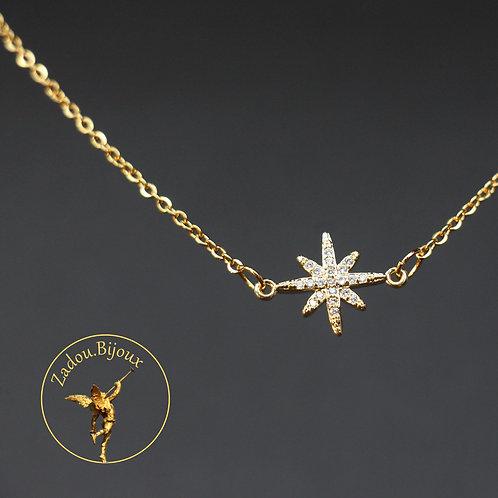 #071 Collier Estrella Doré