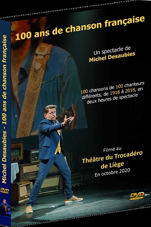 """En précommande : DVD """"100 ans de Chanson Française"""""""